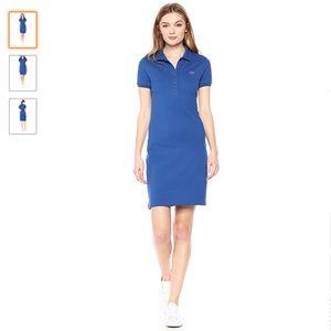 EUC Lacoste Polo Shirt Dress - Blue, size 12 (44)